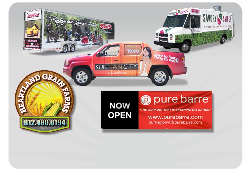 Creative edge graphics is your single source for a wide variety of high quality vehicle wraps custom signage banners graphical communications and